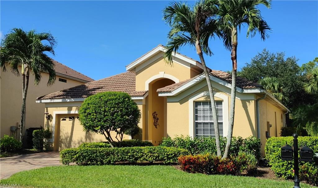 3 Bdrs, 2Bths, Single family home with large screened-in lanai, heated pool and spa and Western exposure, Great Room plan with formal dining area covered by Volume ceilings; within the highly desirable, amenity rich, gated community of Pelican Marsh in North Naples, featuring tennis, pickleball, bocce, a rich calendar of seasonal activities, an optional 18-hole golf course, attended fitness facilities with professional personal trainers, masseuse and spa services. This resort style community is minutes away from lively Mercato shopping and dining and 5 minute drive to our beautiful Vanderbilt Beach.