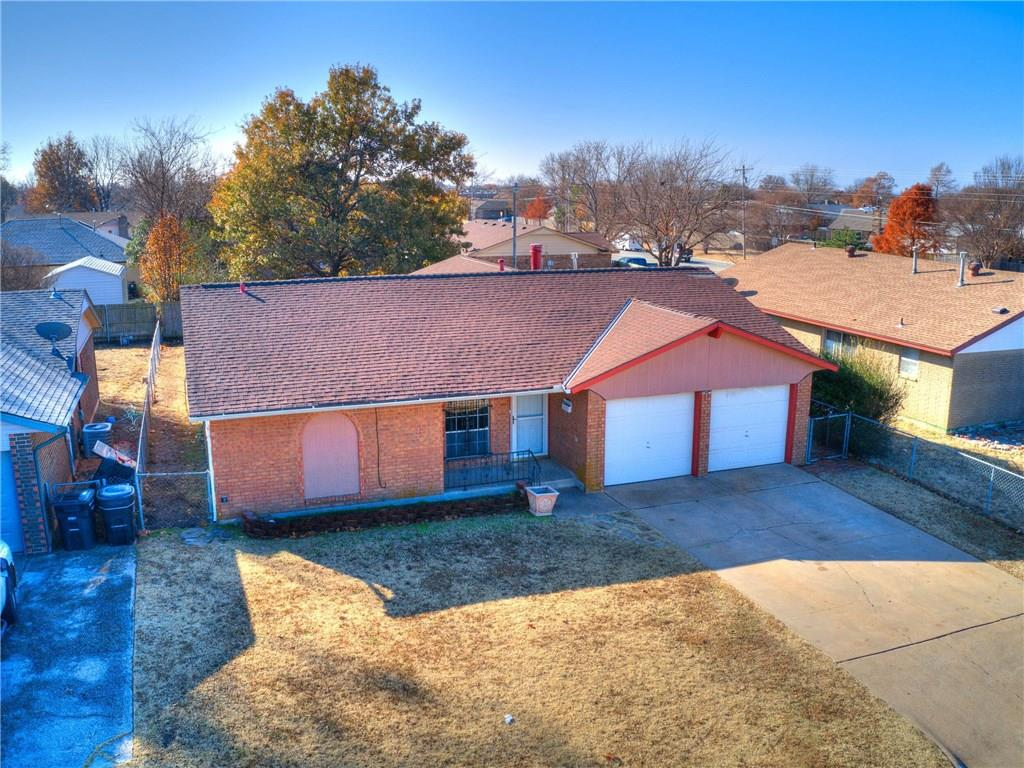 WOW! What a gem! This beautiful home offers 3 bedrooms two have new carpet. 1 full bathroom and  1/2 bath room, 2 Living rooms! Spacious kitchen with a pantry. 2 car garage. Hardwood floors throughout dining area, kitchen, and hallway  Heat and Air replaced in May 2018. hot water tank replaced in March 2019. Seller owns the alarm system which stays with the property. King size bedroom set stays with the property with a full price offer. Seller is in the process of installing a new dishwasher and installing garage door motors. Make this beauty your today!