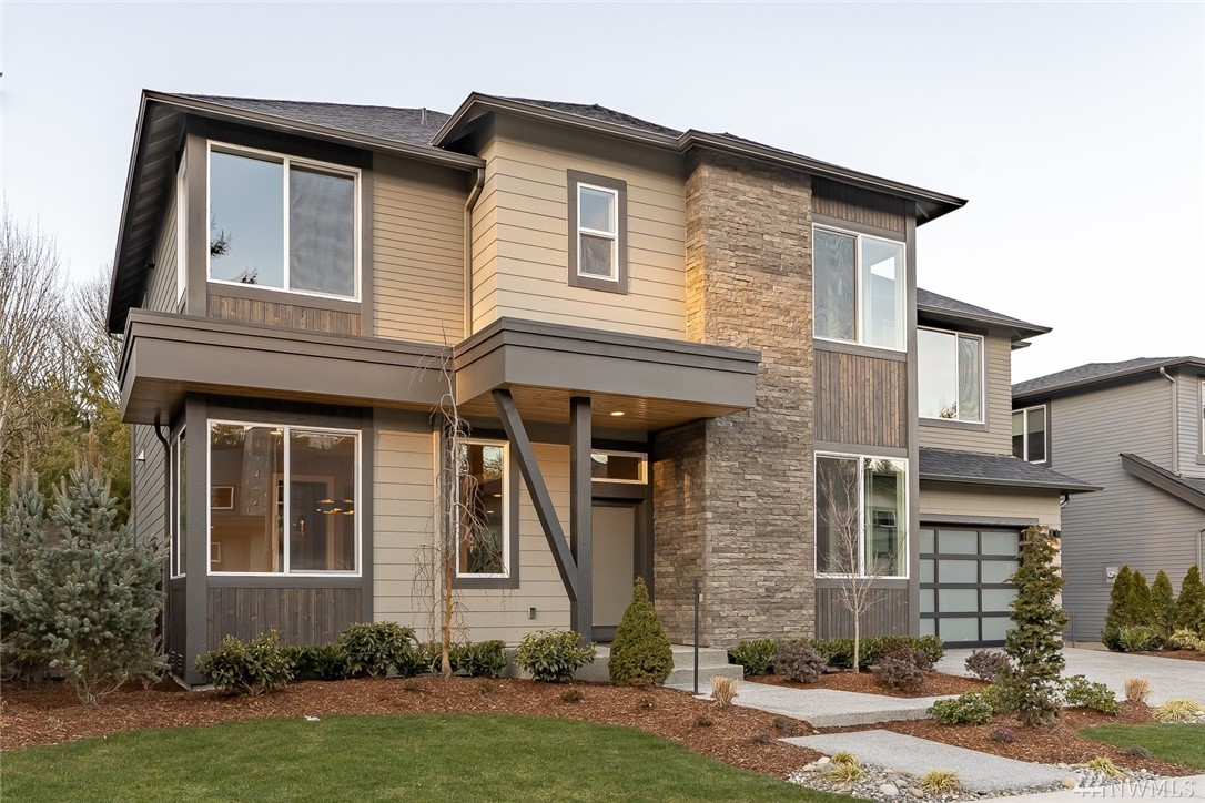 Move-In-Ready! Versant by Terrene Homes, a RARE opportunity in Rose Hill. 24 homes in an idyllic cul-de-sac formation ranging from 3200-4600sf. Lot 5 is the Olympic; thoughtfully planned. Modern feel w timeless designer curated finishes: main floor den + Full bath, 10' ceilings, walls of windows, open concept great room w slab quartz & Thermador appliances, smart home elements, the list goes on. Savvy floorplan has 'winged' spaces upstairs: Master + bonus & laundry then den & 3 addt'l beds.