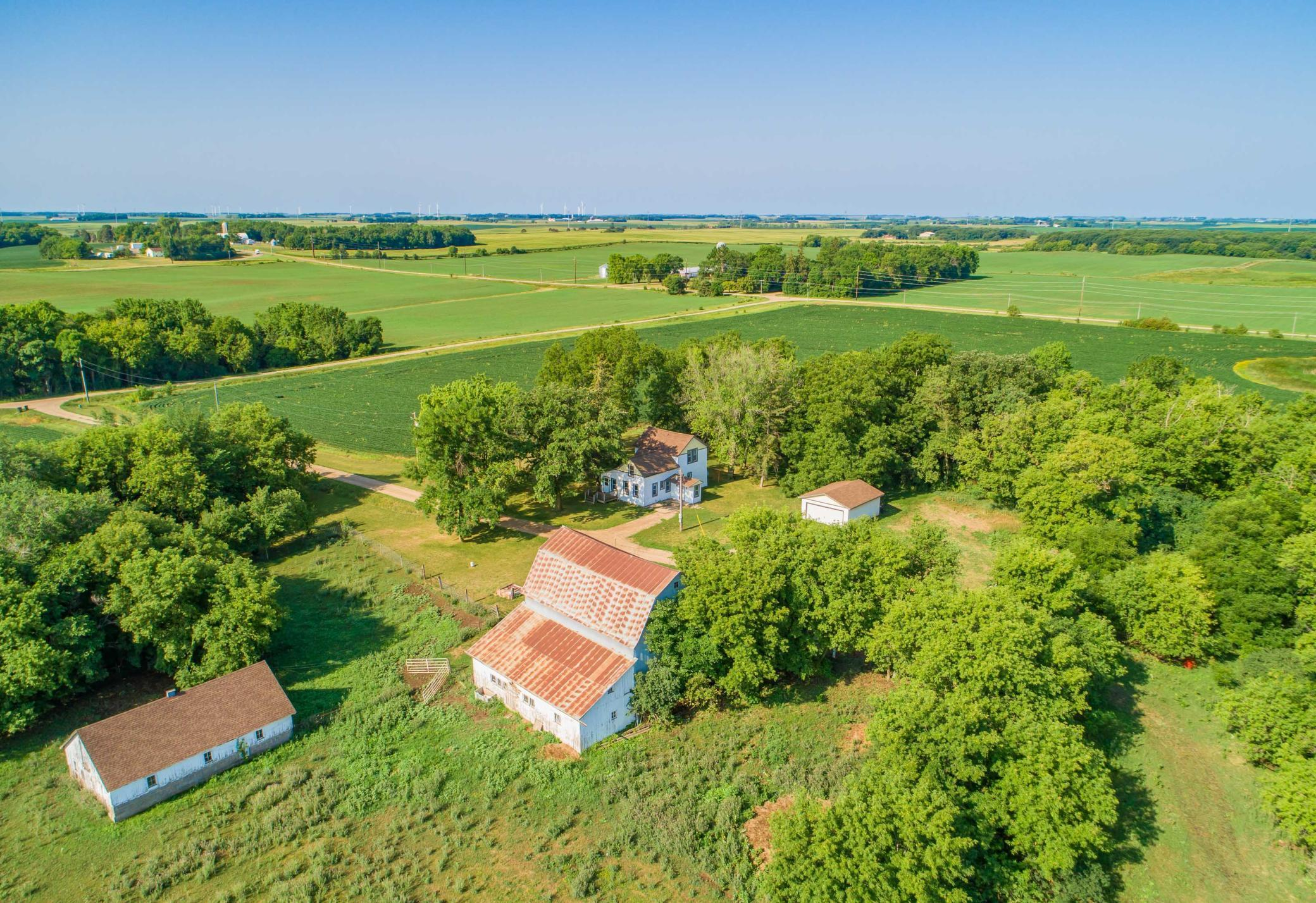 A Rare Opportunity awaits, here is a 122.64 Acre Farm w/ 90 Tillable Acres Consisting of 50% Gonvick Loam, 1 to 4% Slopes, 22.6% Hokans-Buse Complex, 2 to 6 percent Slopes, 12.7% Barnes-Buse Complex, 6 to 12% slopes, moderately eroded & Lakepark-Parnell, occasionally ponded, complex, 0 to 2 percent slopes make up the majority of the land. Soil map & descriptions available to agents in supplements. To go along with the Tillable acreage, is a 4 bed 1 bath 1 1/2 story home, built in 1940 this home has newer siding, roof, windows, furnace & hot water heater, large living room, main floor laundry & Bedroom, a 2 car detached garage, old school house (used for storage). For additional income this property receives $875 a month w/ a lease from Billboards.