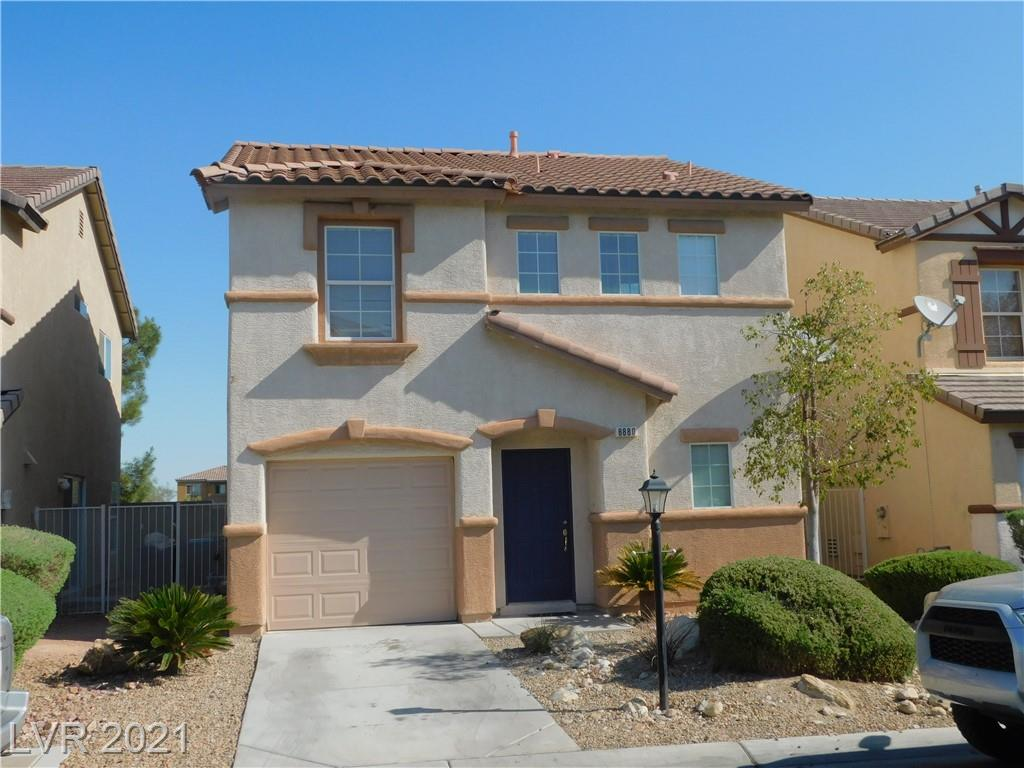 SW LAS VEGAS AREA HOME WITH FRESH PAINT, WOOD FLOORING IN LIVING ROOM AND DINING AREA, TILE IN KITCHEN AND BATHS, GRANITE COUTER TOP ALL APPLIANCES STAY WITH PROPERTY ,NEW CARPET BEING INSTALLED ,ASSOCIATION DOES FRONT YARD LANDSCAPE ,PLAYGROUND TO SHOPPING, FREEWAYS.