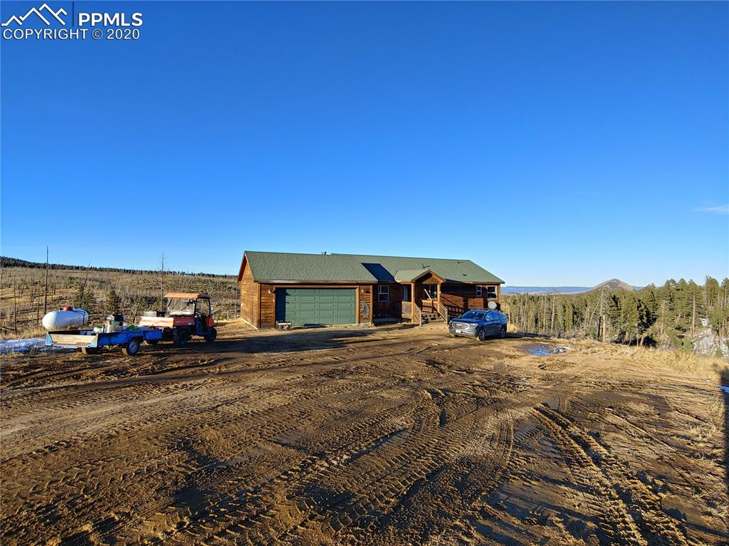 Off the Grid living with this peaceful, private, and serene ranch style home that sits on almost 40 acres. Here is your chance to invest in a Colorado mountain dream home that has 360 degree mountain views, backs to BLM and has a seasonal stream.  With a few updates to the home and solar system, you'll be able to enjoy everything this place has to offer.  It's endless, the money you could save on utility bills with updates to the current solar system but if you prefer electric, this option is also available.