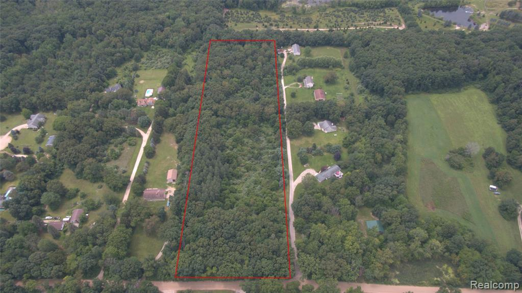 Come build your dream home! This 10 acre property is offers peace and quiet surrounded by abundant wildlife. Great location between near M-59 and Howell. Howell Schools.  4 Splits Available.  High Speed Fiber Internet available! Low Livingston County Taxes. Must schedule an appointment to walk property. All lot lines shown are approximate. Buyer to verify all information.