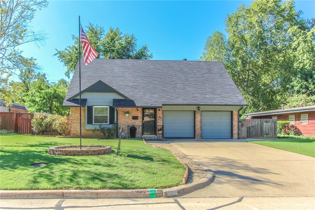 This home has been very well maintained near schools, shopping & not far from the University of Oklahoma. Bathroom has been recently remodeled. Sun room on south side of the home. Garage can be altered to make it two car garage.