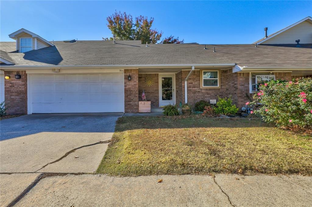 What a treasure in west Norman! Close to everything, this two bedroom (one up, one down), two bathroom townhome features new floors downstairs, new fence, updated bathrooms, two car attached garage, fireplace, and adorable back yard. Efficient, comfortable living and no pesky HOA to deal with. Book your exclusive tour today!