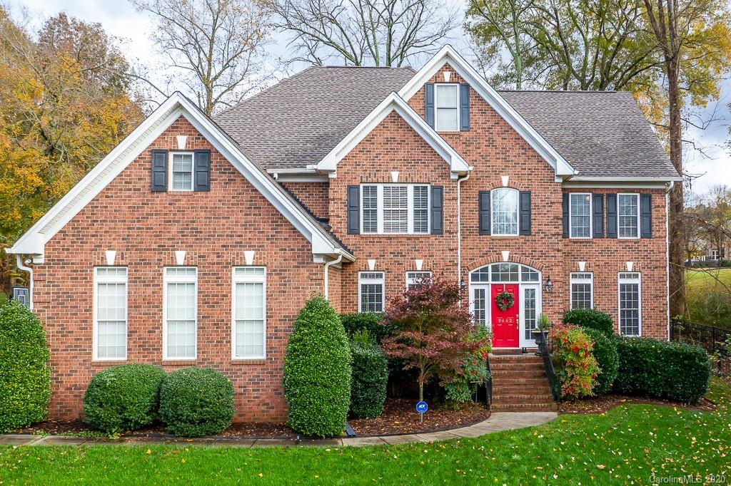 Amazing price on this all brick 3 story golf course home. This is the THE home for our new work at home lifestyle or multigenerational living. 5 dedicated bedrooms and 4 full baths PLUS bedroom/office with full bath on main, 3 flex rooms to use as you need: office, bonus, workout or bed room. In addition there are two beautiful-3 season porches that are comfortable most of the year with a private view of the 7th green and fenced back yard. Large family room, owners suite and kitchen with lots of cabinets, gas cook top, newer stainless appliances & granite counter tops. Nice sized secondary bedrooms w/walk in closets. Crown molding throughout main, master and 2nd floor hall. Tons of storage. Beautiful community amenities(pool, volleyball, basketball and playground). Walk to Birkdale Landing and Birkdale Village w/retail, restaurants and movies as well as a trail for walking, biking or running. Convenient location. Close to Lake Norman, Charlotte, stores, entertainment, schools and more!