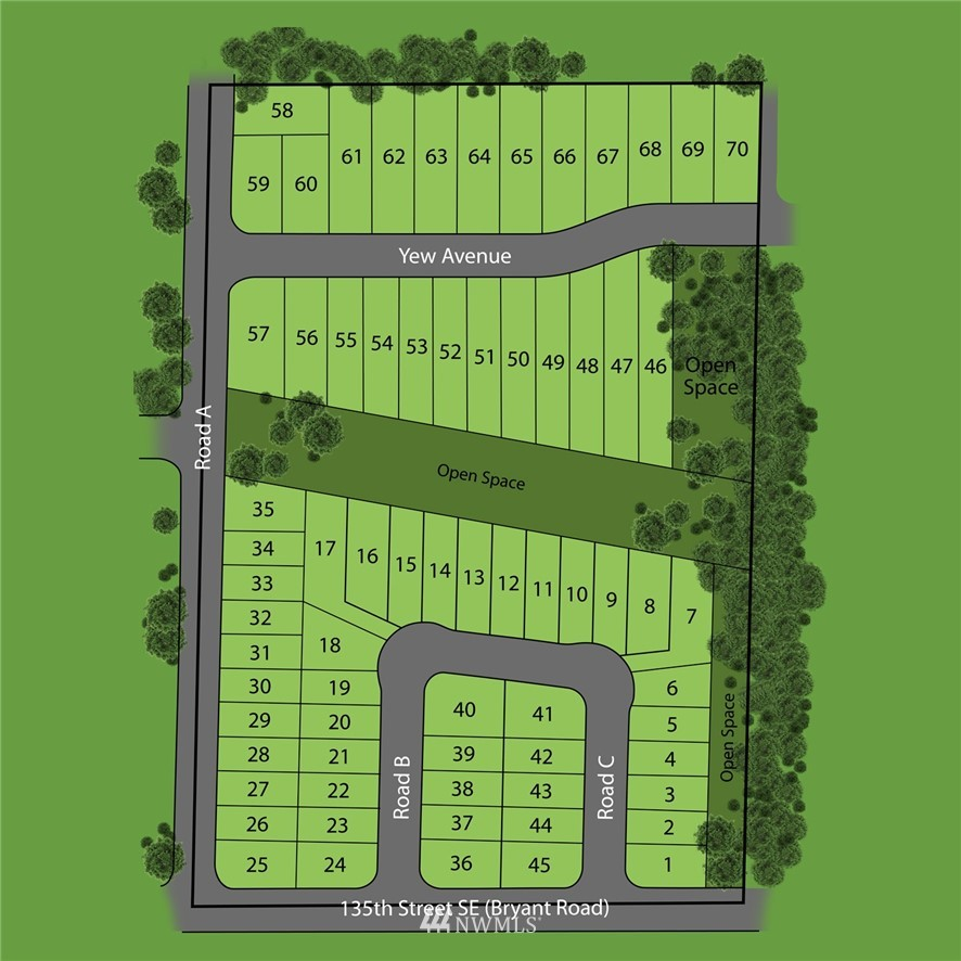 """If your builder wants to buy less expensive lots and build less expensive homes than in Monroe then come see Daisy Meadows up Sultan Basin Rd. 70 """"production or entry level homes to be built here."""" Buy Daisy Meadows, finish the lots this summer and build homes in 2021 and 2022."""