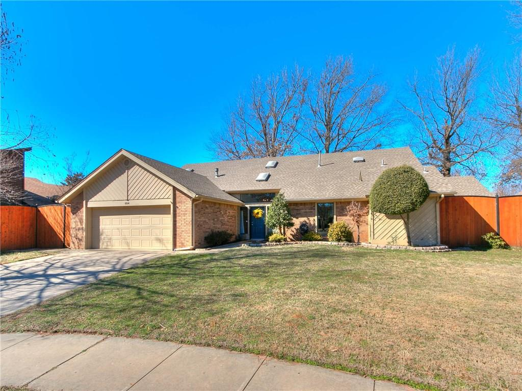Beautiful remodeled home in desirable neighborhood!Walking distance to local school and park. This impeccable home has so many upgrades! Vaulted ceiling entrance leads to spacious but cozy front living area with centered fireplace and re-stained parquet wood floors. Kitchen features granite counters, updated appliances, & center island overlooking the 2nd dining area and 2nd living/den. Amazing detailed gray stacked rock wall feature with fireplace & large picture windows with so much sunshine it will be your favorite room! Updates include can lighting, hardware, fixtures, updated baths and wood like flooring. Master bedroom w/spa style complete remodel en suite bathroom and private entrance to courtyard. Large secondary bedrooms.  8 ft. privacy fence  to enjoy your landscaped backyard. New sidewalks and concrete patio area, koi pond, sprinkler system for low maintenance, and a fire pit for entertaining. 2 new A/C units. Close to shopping & I-35 access. 5th bed/media room flexibility