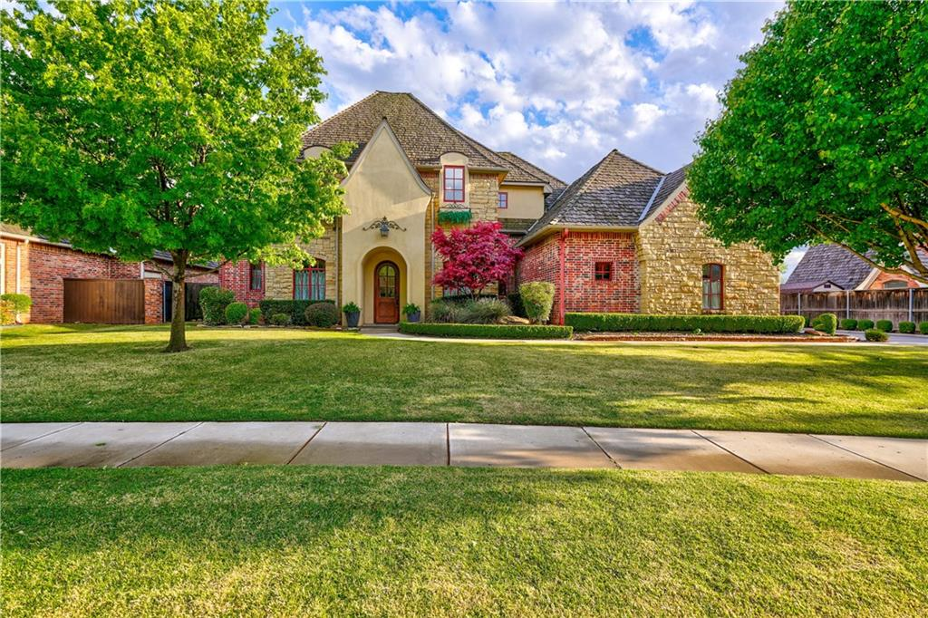 "Visual excitement throughout this custom built home designed for today, tomorrow and beyond. Absolutely timeless decore! This home has the very ""now est"" in style and amenities. The wide open floorplan boast 12 foot ceilings that invite you into the open living/kitchen concept that will compete with new construction floorplans yet you will be tucked into an established cul de sac in coveted Brookhaven!  Even the laundry room will make you sigh! (Did I mention it has a laundry room upstairs as well as downstairs!)  No detail left unturned! Beautiful custom built ins and storage galore! From the beautiful hardwood flooring throughout the majority of the home to the solid core doors! Has a wonderful large covered patio great for entertaining. The house is 1G internet ready with cat6 Ethernet connections in every room. Two security cameras currently connected via Ethernet (front/back-yard) Can add several more. Best of all … it can be yours! We think it is fantastic! Come see for yourself!"