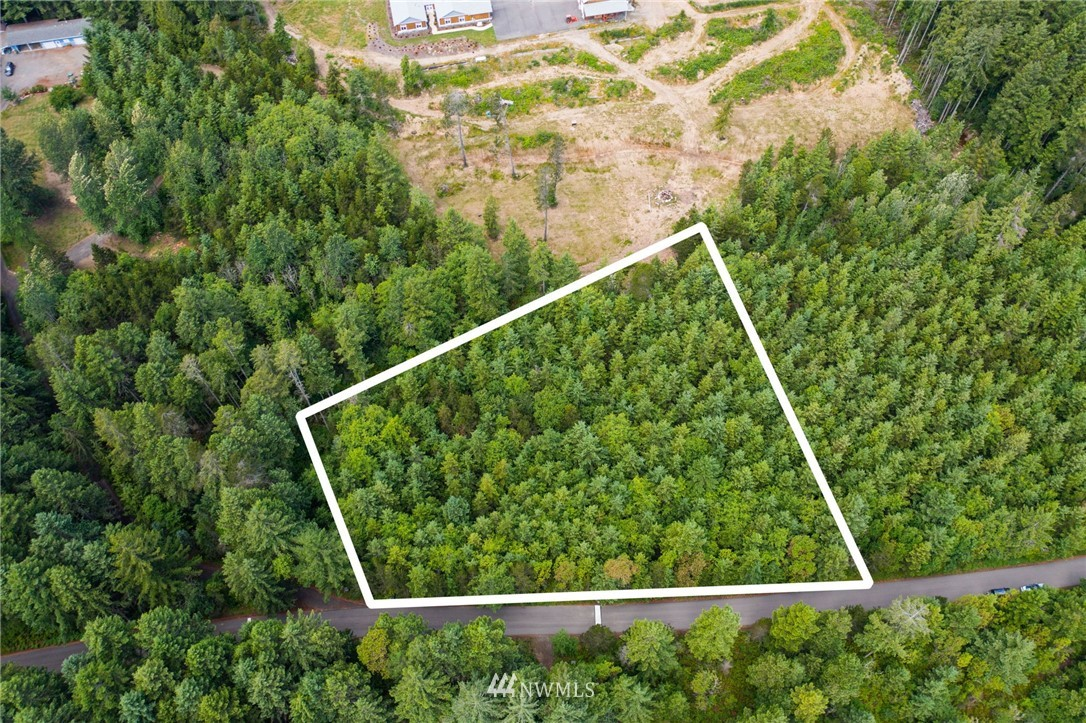 This gorgeous 2.5 acres of land, wrapped in tall evergreen trees, is a woodland delight! The lot next door is also for sale (family owned). It's location is perfect for commuters as it's mere minutes from Highway 16 yet you feel like you are deep in nature! Residents of this area enjoy being close to GH North, Park 360 (kids splash park & mountain biking trails), Costco, the hospital and the Cushman Trail! Paved entry road, power in the street, and privacy, privacy, privacy! This acreage is surrounded by lovely, well-cared for homes, on a genteel country street, and your dream home will be amongst them!