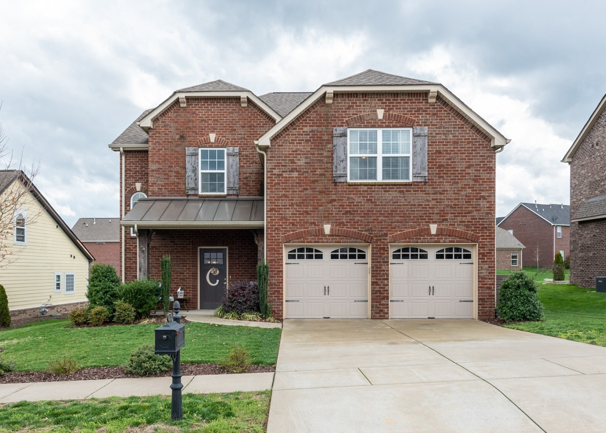Knockout gem in the heart of Canterbury! This all brick home features an extremely open kitchen area with granite countertops.  The master on main is tucked away from the living area.  Separate shower and garden tub with double vanities in the master bath w/large walk in closet.  3 oversized bedrooms up as well as a full office.  Large bonus over garage w/double french glass doors and a covered pergola over the back patio to enjoy your evenings! Open House 5/23! Gloves and Masks provided!