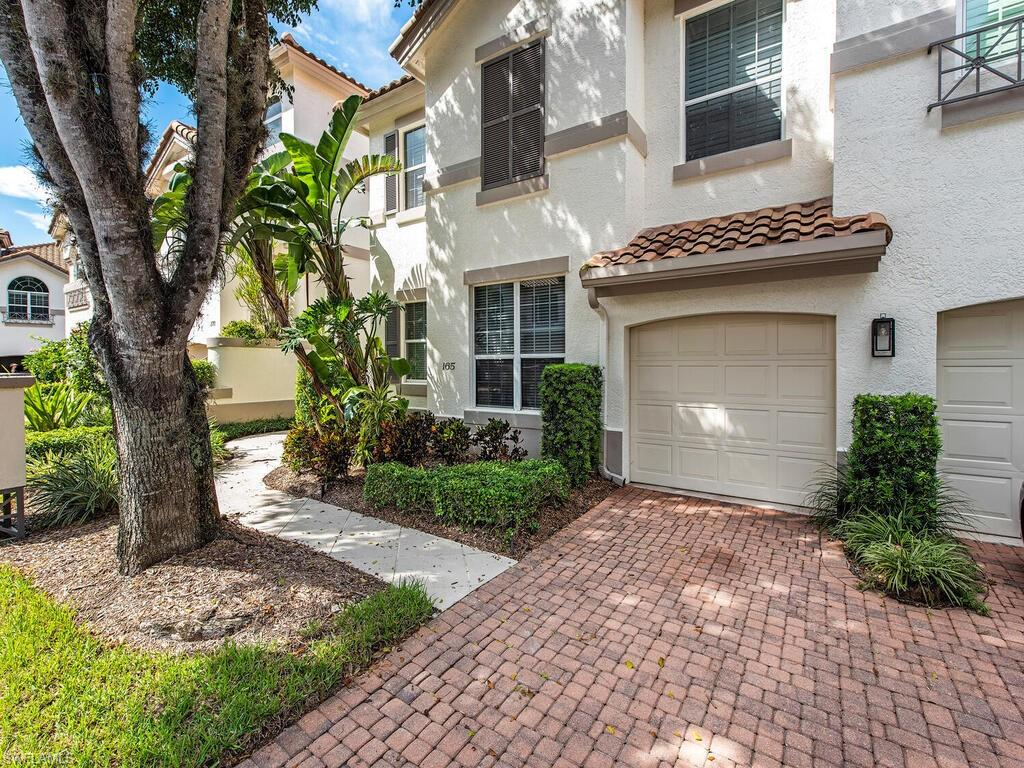 C3527  Excellent location - walk to venetian Village shops and restaurants.  Minutes to Park Shore private beach.  Gorgeous tree canopied street you'll find this first floor corner unit with huge master bedroom, featuring a sitting area and master bath.  The Colonade is a gated community with a magnificent lap pool, spa and new clubhouse.  Rare opportunity for this 3 bedroom retreat.