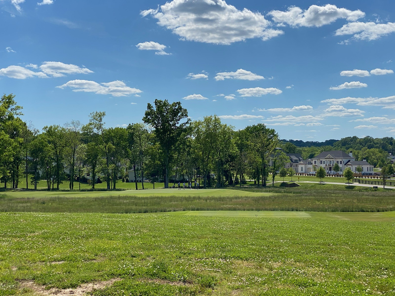 A one-of-a-kind golf course homesite overlooking the 11th tee box, 12th green &13th tee box of our Greg Norman Signature golf course along w/ views of our Fishing Camp and TN ridge lines in the distance! This homesite is .45 acre and is tucked into one of our few fully-developed cul-de-sacs, so there will be no more construction around this home in the future.  If you are a golfer, there are no better homesites than this one at The Grove!