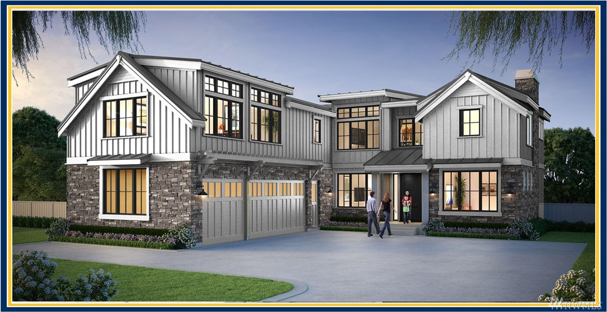 "Under Construction-Completion Summer 2019.BDR Fine Homes presents a fresh new luxury farmhouse featuring a 5 bedroom suites + den in the heart of Medina. Walk to schools, golf club, parks, Green grocery store, & beach. Signature covered outdoor room w/ heaters, fireplace, TV, BBQ. Gourmet chef's kitchen w/ prep kitchen. Bonus room & exercise room. Build with the BDR Team, a 3-time winner of the coveted Builder of the Year Award in the Puget Sound region & voted 425 Magazine's 2018 ""Best Builder"""