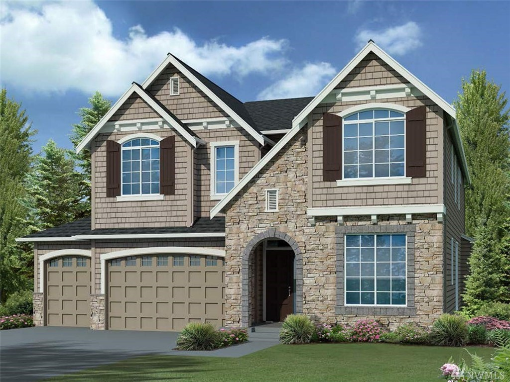 "Lot 143, Greystone IV, ""Arcadia"" plan features 4 bedrooms, 4 bathroom, den, rec room, designed for today's lifestyle! Standard features include stunning slab quartz in kitchen and baths, innovative Kitchen-aid appliance package, 7"" wide plank floors, 8' doors, mud set shower pan and tiled bath wall in master. Full wall of windows allow for natural light! Covered patio off nook! Beautiful community with several parks and trails in the Tech heavy corridor of Redmond! Award winning schools!"