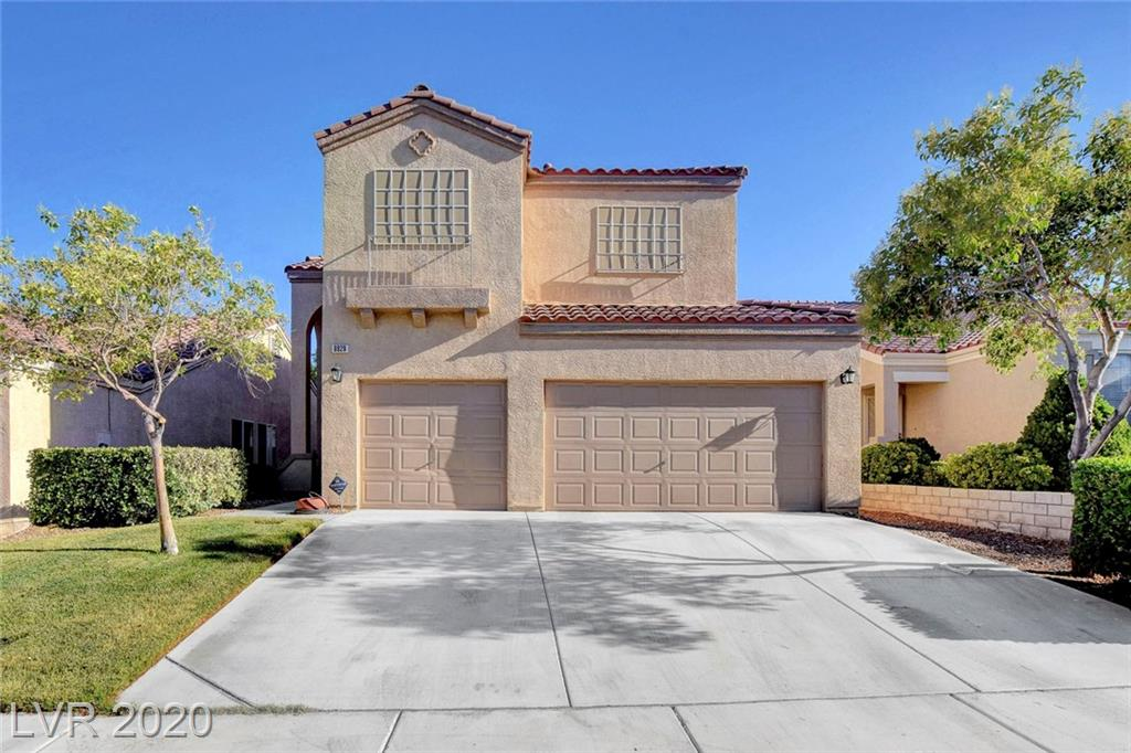 STUNNING FOUR BEDROOM BEAUTY WITH THREE CAR GARAGE LOCATED IN THE HIGHLY DESIRABLE SPRING MOUNTAIN RANCH COMMUNITY. KITCHEN FEATURES STAINLESS STEELE APPLIANCES AND GRANITE COUNTERS...SPACIOUS FLOOR PLAN WITH GRAND ENTRANCE AND IRON STAIRCASE. CATS CLAW AND TRUMPET VINES COVER THE BACK PATIO PROVIDING EXTRA SHADE FOR ENTERTAINING ON THOSE HOT SUMMER DAYS. COMMUNITY AMENITIES INCLUDE WALKING PATHS...PLAYGROUND...PICNIC AREAS AND MUCH MORE!!