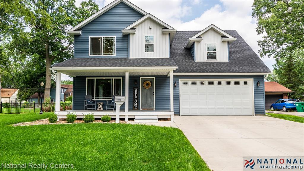 This Stunning NEWLY CONSTRUCTED, Move-In Ready Home Has Everything You Can Dream of Without All the Restrictions or Monthly Cost of an HOA! This Home is Wrapped with Windows Allowing in So Much Natural Sunlight. Enter Off the Covered Porch and Step Into the Open Concept Design That Makes This an Entertainer's Dream. Home Offers Vinyl Plank Flooring Throughout First Floor of the Home. The Designer Kitchen Features Granite Countertops, S/S Built-In Appliances, Pantry & an Expansive Breakfast Bar. Relax & Unwind in the Master Suite With Full Bath and Walk-In Closet. Plus a HUGE Fourth Bedroom With Double Closets that Could Serve as a Second Master Bedroom. All 3 Bathrooms Have Attractive Ceramic Tile Floors. Recessed Lights in Every Room! Convenient Second Floor Laundry. Also a Finished Basement, Fenced Yard, & Entertaining Deck. Plus, New Low E Energy Windows, Furnace, C/Air, & Roof with 30yr Dimension Shingles! Within Close Proximity to Parks, Shopping, Dining, Entertainment & Freeways!