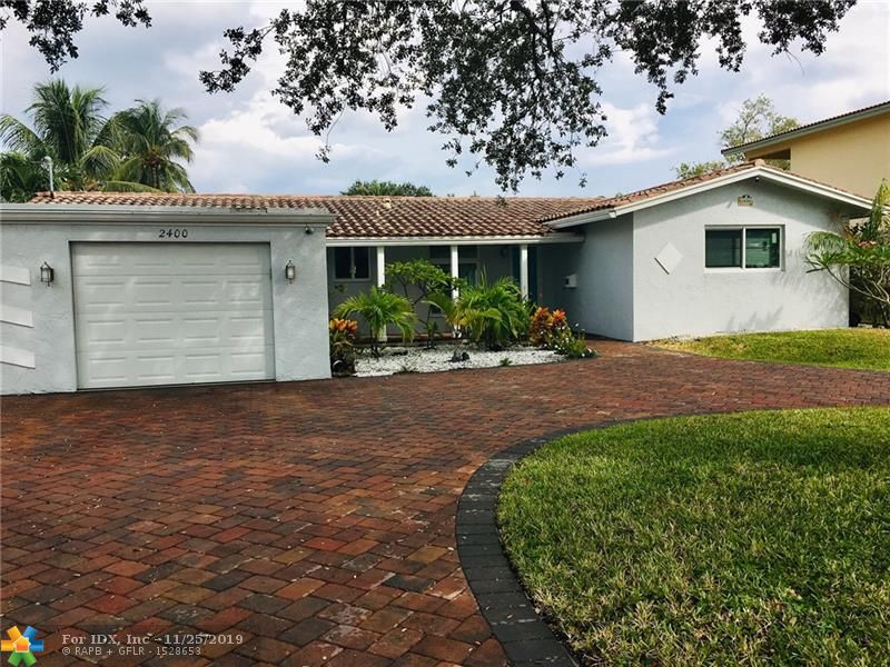 Great Wilton Manors waterfront property.  Canal views from almost every room!  Enjoying living on the water, boating, fishing, paddle boarding and kayaking out your backdoor.  Large paver patio over looking the canal. 