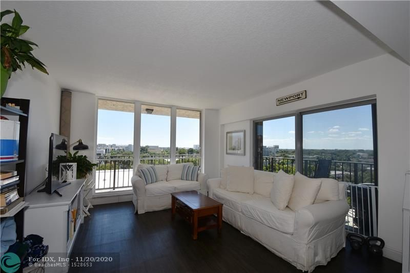 SHARP SW CORNER UNIT WITH WRAP AROUND BALCONY! APT IN GOOD CONDITION. NEWER UPGRADED LAMINATE FLOORING. IMPACT WINDOWS ON 3 OF 5 OPENINGS INCLUDING SLIDING GLASS DOOR AND STORM SHUTTERS FOR THE OTHER WINDOWS. PANORAMIC VIEWS INCLUDE VARIOUS CITY SKYLINES, PORT, CRUISE SHIPS AND SUNSETS. GREAT AMENITIES FEATURE HEATED POOL, GYM, TENNIS, SHUFFLEBOARD, SAUNAS, LIBRARY, GARAGE PARKING, EXTERIOR STORAGE & CAR WASH AREA. SUPER SE 17TH ST LOCATION IS CLOSE TO BEACH, AIRPORT, DOWNTOWN, L.A. FITNESS, SHOPPING AND MANY RESTAURANTS.