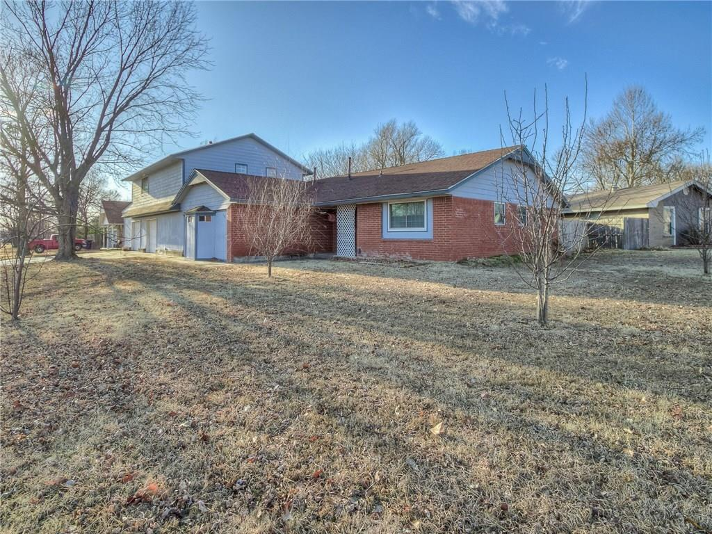 Come see this spacious house and ready to move in! 3 bed/2 bath with 2 large bonus rooms that can be used as a study, exercise, or game room. Master bathroom was remodeled in 2017. Laminate wood flooring throughout the house, and brand new carpet in both of the bonus rooms! Kitchen cabinets were updated in 2016, appliances are 2 years old, and seller will leave refrigerator/washer/dryer with a reasonable offer. Hard surface counter tops and a garbage disposal. Large laundry area. Windows are new double pane, Low E 6500 series that have a transferable warranty. Hot water tank was placed in 2013. Two newer A/C systems that are still under warranty! Seller reports electric bills are low for this size of home. The garage is over sized and has work space. New electric garage door openers with WIFI/cell compatible. Huge shed that has two levels for storage! Great price for the size and located on a corner lot! Almost .25 acre. Back on market due to previous buyer unable to secure financing.