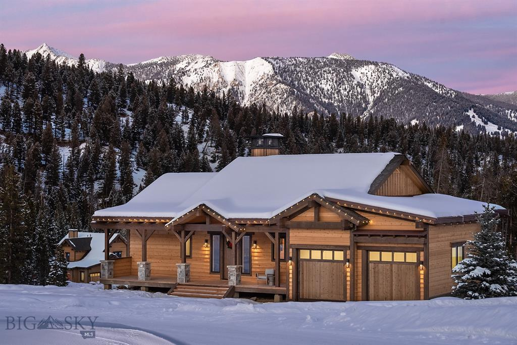Lot 59 is a Vista floor plan, Birch finish with 4 bedrooms, 4 bathrooms, and 1 half bath. The ski access into Highlands and the Highlands and Cabin Chair Lifts make this neighborhood the ultimate in ski in/ski out! Highlands is a Southern facing ski/in ski/out neighborhood surrounded by old-growth pines and set atop a ridge overlooking the surrounding mountains, Yellowstone National Park, the Clubhouse and the under construction Montage Hotel. Homes in Highlands are classic alpine design re-imagined with clean, modern lines and open interior spaces creating warm and elegant ski chalets. Walking distance to skiing, golf, hiking, mountain biking, snow shoeing, cross country skiing, alpine downhill skiing and the Clubhouse (dining, bar, pool, hot tubs, health club). Golf or Ski Social membership is available with this property, purchase of membership deposit at Spanish Peaks Mountain Club required within 30 days of executed contract.