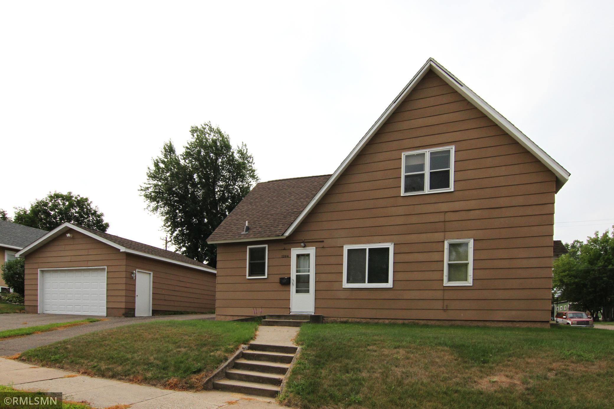 Nicely kept Brainerd home with 3 Bedrooms plus an office, 2 baths, insulated 2 car garage and a single car garage on a quiet corner lot.   The roof is  a couple years old and some of the  windows have been replaced.  Don't miss out on seeing this one!