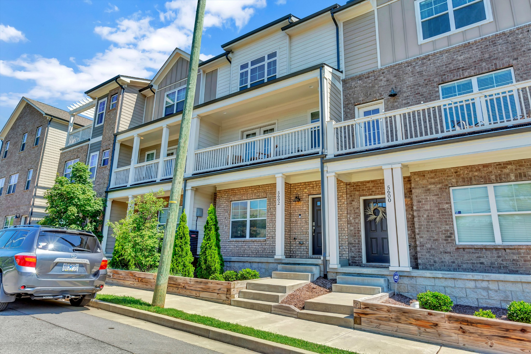 Unique opportunity in the Nations! NOO STRP eligible, zoned CS. 3BR/3.5BA, three story townhome with 2 car rear loading garage in the Kenrow Corner development. Entire second floor is open kitchen/living with balcony. Furniture is negotiable. Professional interior pictures will be taken once seller has moved to new home.