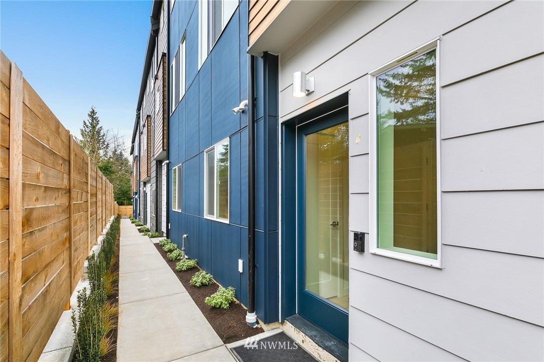 Blue Fern Development proudly presents the Meridian West Townhomes in Shoreline's Echo Lake neighborhood. These 7 homes are 1584-1619 SF w/3 bdr, 2.5 bath, & spacious 2-car garages. Live large, w/2 different open living floor plans & storage throughout. Enjoy endless options for the flex space on the 4th floor! Built 4 Star Green leaving a lower carbon footprint & monthly energy savings. Invest in a growing neighborhood w/a longstanding top-rated Shoreline School District & future Light Rail Sation. Quick commute to Seattle via car or E-Line/Metro bus. Walking distance to Starbucks, Bartell Drugs, & Cromwell Park. Easy access to grocery, Costco, restaurants & more. Short adventure to Richmond Beach, Boeing Creek Trail, & Interurban Trail.