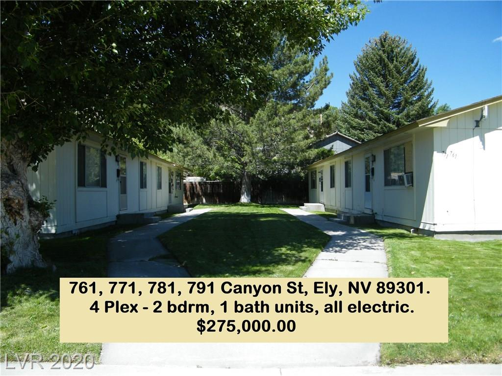 761 Canyon Street, Ely, NV 89301