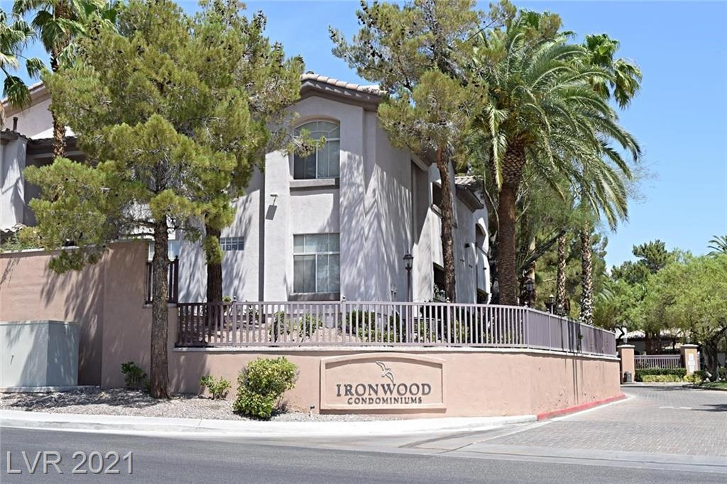 Wonderful  gated Ironwood Condo. 2 story townhome w/attached 2 garage! New carpet and paint! Large living room w/fireplace plus ceiling fan. Kitchen features granite countertops, all white appliances, pantry, tile floors and recessed lighting. Master bedroom w/ceiling fan and soaking tub. Laundry w/full size washer & dryer plus sink. Great Community with fitness center, as well as a pool and spa. Must View!