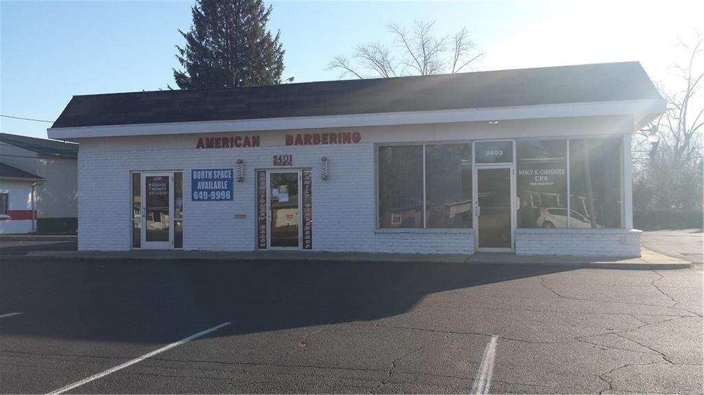 3 Unit Strip center, currently rented to tenants that have well established clientele for many years. Barbershop equipment and fixtures, and business goes with building. Currently 5 chairs rented for additional income. New 30 year rubber roof in 2014. Parking lot redone in 2018. HVAC in 2009 and 2012.