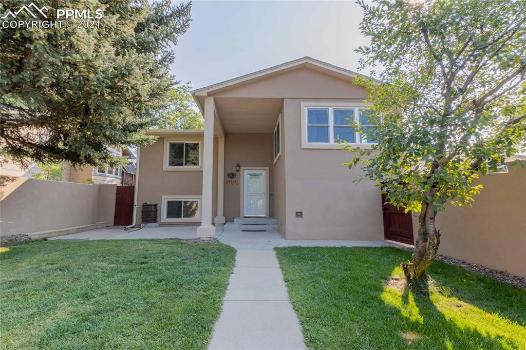 You'll find this west-side gem on a quiet, no outlet street with easy access to I25, downtown, Old Colorado City ,and Mantiou. The front gate leads to a secluded courtyard ready to become your oasis. Upstairs includes hard-wood floors, amazing mountain views, a sunroom, and access to the large covered patio in the back. Get cozy downstairs around the wood-stove with easy access to the wet bar. The back-yard includes a shed for additional storage beyond the detached 2 car garage.