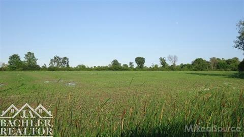 Large 16+acre parcel on 26 Mile Rd with tons of potential. In area of Commercial properties. Property split possible.