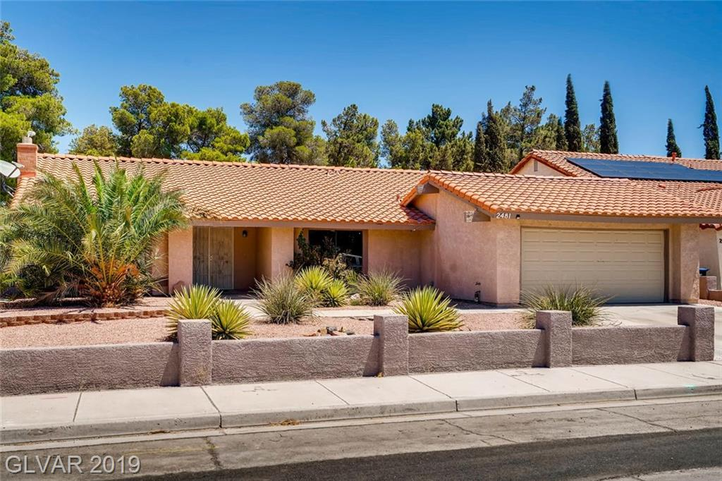 WOW!! Check out this fabulous single story in the heart of Green Valley!! Amazing location close to schools and shopping. Well maintained with front yard fully landscaped. Call and make an appointment today!! This one won't last long at this price!!