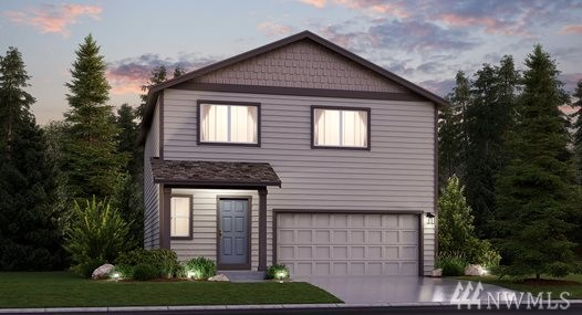 The Merlot floorplan on largest corner lot at Carrington in Fife, WA  by LENNAR. World's first WI-Fi Certified Home Design. This 2,120 sq.ft 4BD/2.5Ba  gorgeous home boasts a walk-in pantry off of the open kitchen with luxury finishes. Upstairs you'll find three bedrooms (one with a walk-in closet) plus a master suite, bath and a HUGE walk-in closet.There's even a loft at the top of the stairs which is perfect for home office or game room. Fully fence & landscaped! LENNAR=everything's included!