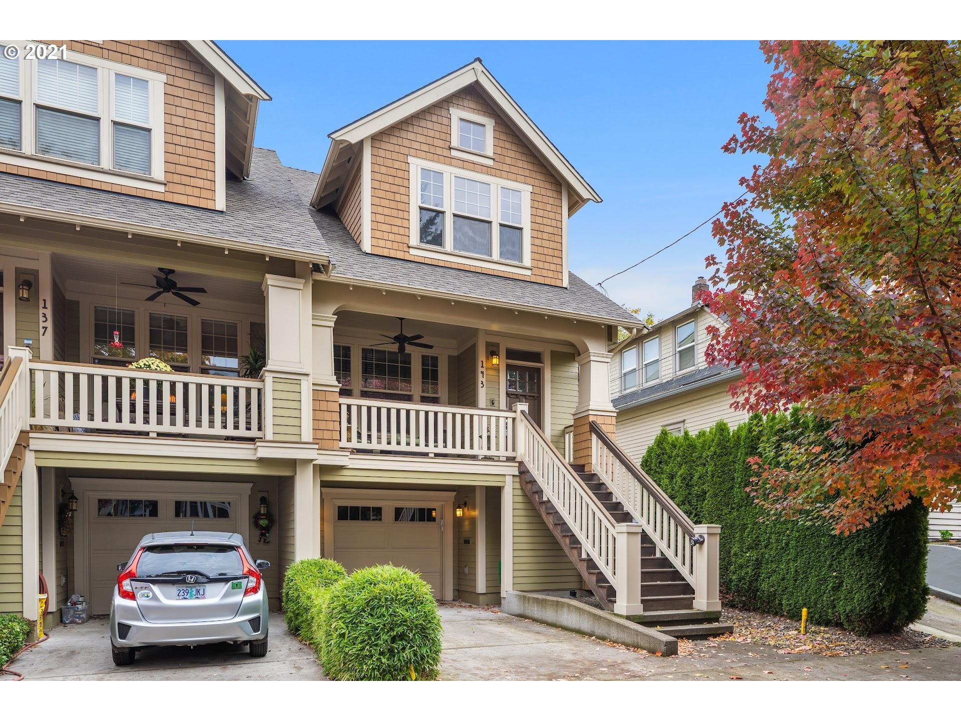 Exceptional townhome on quiet street in Boise-Eliot neighborhood! Quality craftsmanship & finishes. Gourmet kitchen includes; gas Wolf range, wine cooler & expansive island. Primary ensuite bedroom w/marble walk-in shower & double closets. Lower level guest quarters or private office space. Fenced backyard & peaceful Zen garden. Attached garage, ample storage. Just blocks from trendy Williams Corridor restaurants, shops & New Seasons grocery. Walk Score 91 Bike Score 92. Energy efficient HES 8! [Home Energy Score = 8. HES Report at https://rpt.greenbuildingregistry.com/hes/OR10147260]