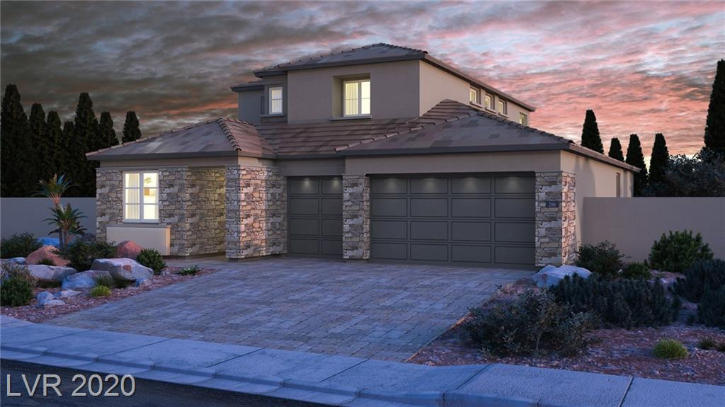 "New Home in Summerlin! This home includes our ""Everything's Included"" features such as GE kitchen appliances, 2"" faux wood blinds, Home Automation, USB outlets at kitchen & master, and much more!"