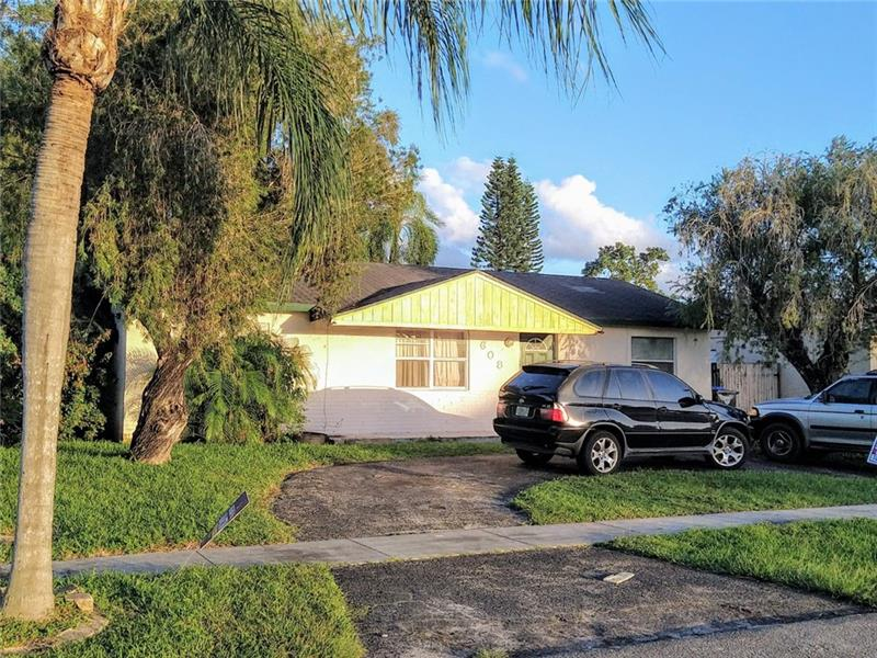 Beautiful 3 bedroom / 2 bathroom home. Fully tiled throughout. Great layout that allows for lots of natural light.  Home sits on a large lot and has a private backyard that is fully fenced.   **Tenant occupied**. Sellers own multiple properties in Broward County. Due to retiring, owners are offering this and other great single family homes for sale. Property is currently rented month to month.