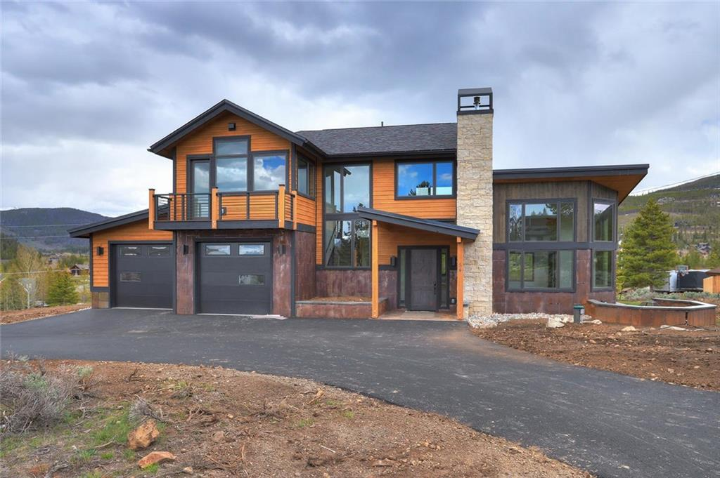 New Construction home in the highly desirable Ten Mile Vista neighborhood.  This Mountain Modern home is tastefully crafted with high end finishes throughout.  4 bedrooms/3.5 baths with a bonus room perfect for an office.  Just a few highlights include, soaring great room with gas fireplace, oversized 2 car garage, 2 master suites, steam shower and plenty more.  The mountain views are absolutely stunning from every room! Brand new home that is a must see!