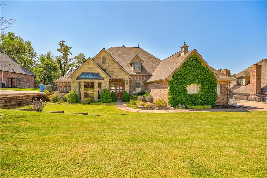 Open House Sunday 9/19 from 2-4pm -- Four bedrooms on main level  -- Upstairs bonus room -- Upstairs option of fifth bedroom/2nd bonus/theatre        -- Above ground storm shelter/safe room  -- Christmas light ready with outlets and one switch  -- Neighborhood next to only public golf course in Edmond  -- Easy access to I-35  -- Showbiz, food and shopping right around the corner -- Extra large study --  Storage!!  -- Driveway creates playing/entertaining space --