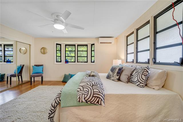 PRICE REDUCTION! Rarely available Nuuanu Listing!! This well-maintained home sits on a 12,000sf lot and showcases the ultimate flexibility to live-in-one & rent the other, multiple rental options, or perfect for multi-generational living (4/2 upstairs, 2/2 downstairs,).  This home features 37-owned photovoltaic panels, cool tradewinds, upgraded bathrooms, split AC's, large driveway for multiple vehicles/boat, separate kitchen/wetbar, open floor plan, new windows, multiple entrances, upgraded Quartz counters, multiple fruit trees, vegetable garden, and a large landscaped yard that is fenced for privacy and a perfect space for kids, pets, & entertaining family and friends.  This home is situated in the heart of Nuuanu and is located just minutes from downtown Honolulu, Kakaako, Sand Island, freeway access, shopping centers, parks, schools, & on the bus line…Don't miss this opportunity!!