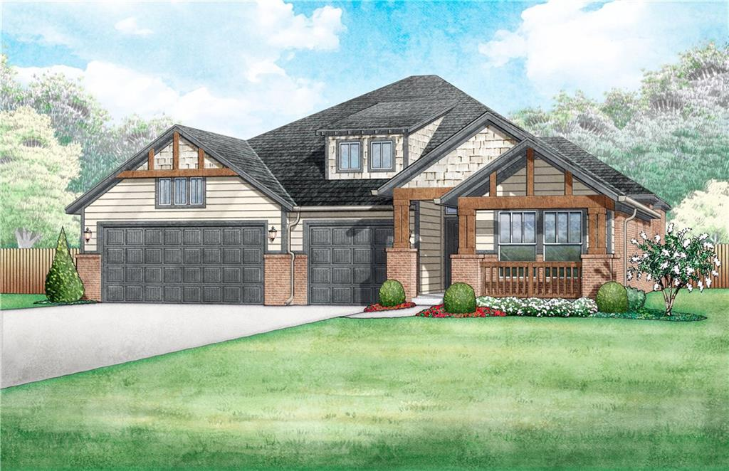 This brand new Craftsman style 3 bedroom home offers an open living/dining layout, an indoor utility/mud room, a study, and 3 car garage. The kitchen features built-in appliances gas cooktop, microwave, tile backsplash, quartz countertops, and breakfast bar. Other upgrades include a cozy easy-start gas fireplace in the living area along with an outdoor covered patio. The home boasts a HERS score of 61, guaranteeing you low heating and cooling costs all year long. Scheduled to be move-in ready in November 2019!