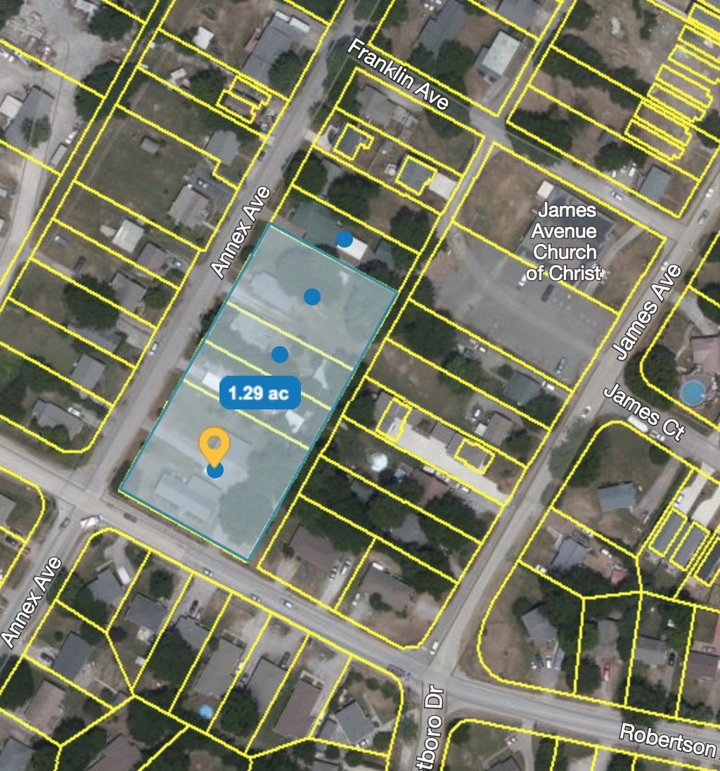 **Must be sold with 6408 Robertson Ave. (MLS 2190855), 604 Annex (MLS 2190858) and 608 Annex (MLS 2190856)** Incredible development opportunity of residential lots totaling over 57,000 square feet -- all zoned R8 in hot Charlotte Park.