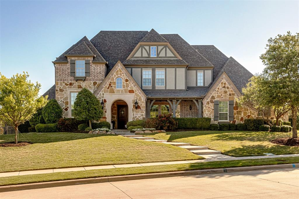 Located in Lovejoy's premier Serenity neighborhood, this incredible 5 bedroom Huntington custom home is beautifully appointed with gorgeous architectural ceilings & rich finishes in all living areas. The well-designed floor plan features a great room, chef's kitchen and breakfast area, master & guest suites as well as a study, dining room, large laundry and mudroom. The 2nd floor includes 3 more bedrooms, media room, card room, game room & outdoor balcony w staircase leading back down to the outdoor living space.  The oversize culdesac lot provides the ideal outdoor living space and is private w no rear neighbors. The BRAND NEW pool &  spa with travertine decking has a fully transferable warranty.