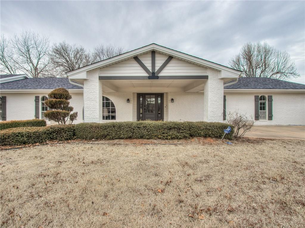 **Open Sunday 2-4**Stunning modern ranch remodel in fabulous prime Edmond location surrounded by beautiful estates. NO HOA on this sprawling 1.41 acres with so many possibilities. You will love this floor plan and all the character this estate has to offer. Property features new roof, gutters, newer h&a units, high-end appliance package, quartz, granite, & marble through-out, 2 hot water tanks, 2 private wells, all new light fixtures, tile, carpet and wood floors. 2 living, 2 dining, study, backpack hutch area, and massive mudroom as well as bonus room plus large covered patio that leads to gorgeous new cedar deck. Chef's kitchen with plenty of seating space and working space for several chefs! The entire acreage has sprinkler system on private irrigation well. Long driveway with ample parking and great space for bikes or basketball. Basement that serves as storm shelter. This property is truly a one-of-a-kind must see for yourself! Additional 3.22 acres for sale next door mls #888054.