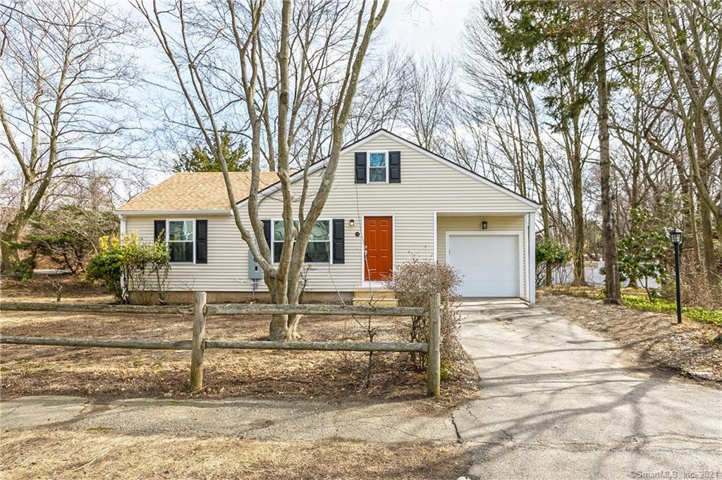Completely remodeled in 2018 with all new insulation, drywall, cabinets, windows, doors, floors, appliances & mechanicals. Roof installed 2015. Granite countertops, large island with seating. Open floor plan. Condo alternative living. Carpeted bonus room upstairs. Storage above garage. Level yard. Walk to Fairfield Metro train station! Commuters dream right at exit 23 off of I-95.