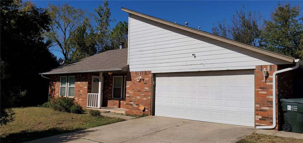 Check out this quaint little gem nested right off Hw9 in Norman! Prime location near campus, easy access to Hwy9 and I-35, it sits almost at the end of the cul-de-sac, and it's ready for you to put some of your own final touches to it. A fresh white paint job throughout leaves you with a blank canvas to do with it what you wish, new kitchen backsplash, countertop, sink, plumbing, and updated appliances!