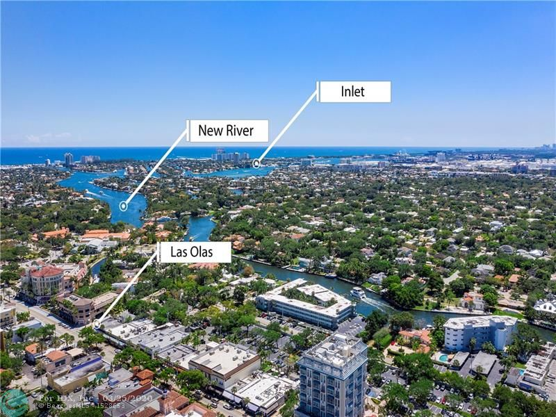 Manhattan Chic meets Las Olas and the Beach-The ultimate in location, views & lifestyle! Brand new MODERN design lobby and common areas, 2020! Enjoy sweeping dynamic 300+ degree views from this PRIME East AND South corner sub-penthouse in the heart of Las Olas. Offering 3BR+Office/3+1BA/3 Balconies/2 Garage Spaces. This 2,940sf condo encompasses the entire South half of the 16th floor! Semi-private elevator (only 1 neighbor). Stunning direct ocean, New River, Intracoastal, pool & city views as far as the eye can see (views all the way to Miami). Floor-to-ceiling impact windows. All bedrooms are ensuite. Storage galore. Steps to famed Las Olas Blvd, Downtown Ft Lauderdale, financial district, world-class restaurants, shops, arts/entertainment, water taxi. Blocks to beach. 2 pets welcome!