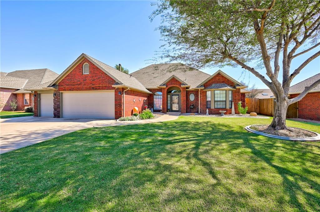 WOW - This is it - Mr Clean lives here and this home is ready for new Buyers ! Location is ideal less than a few miles to major shopping, interstates and schools but it doesn't stop there ! Home features a 3 car garage,  heated pool AND hot tub  in the maintenance free backyard ! (pool has new liner, filter AND heater ! ) Attention to detail is what this home is all about and updates galore with updated heat/air  system, faucets, fixtures, flooring, interior/exterior paint, hot water tank, appliances, backsplash, granite, tile , etc .  you name it- it's been improved- updated or replaced ! Super floor plan with formal dining, TWO living areas. Easy to show, LOW dues here ($ 15 a month !) show and bring that offer before the holidays hit !