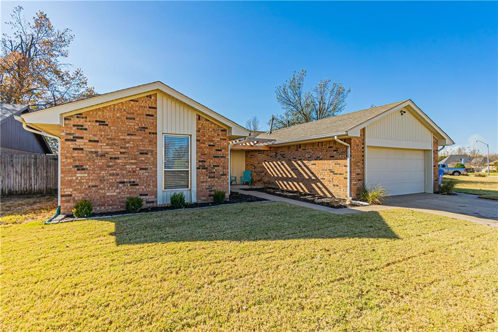 What a great westside home located just minutes from shopping, entertainment, dining, and easy access to I-35.  This cute 3 bedroom / 2 bath 1850 sqft. home has been recently updated in 2019 with carpet, tile, paint, new bathroom cabinets and granite countertops along with new roof in 2017.  This beautiful home has a ton of built-in storage including walk-in storage space in the 2-car garage.  The nice sized back yard includes covered and uncovered patio space for all your entertaining  needs or just for you to enjoy.  Schedule your showing today!